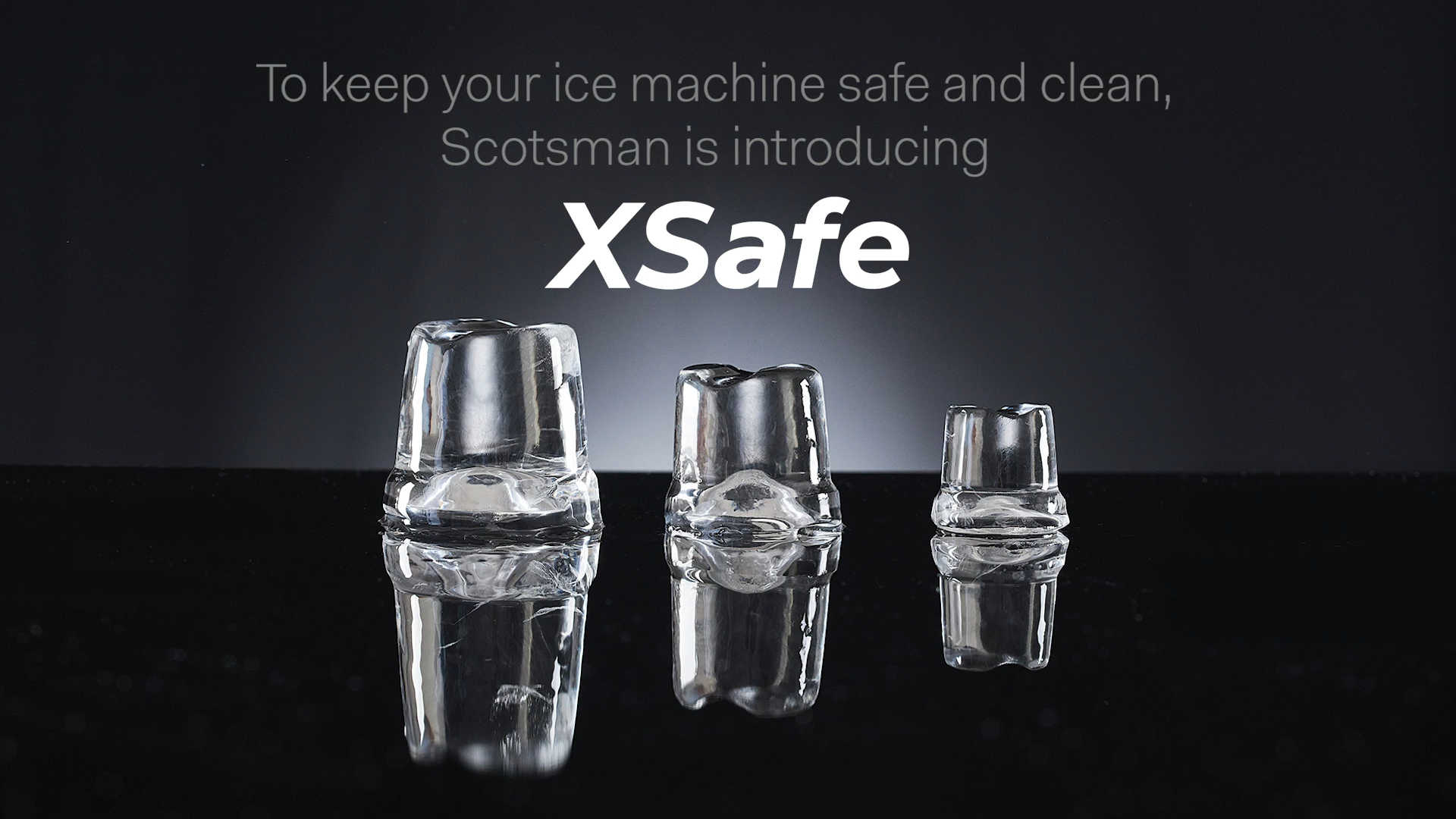 Introducing Scotsman XSafe - The new normal for ice machine hygiene!