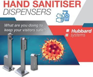 Hand Sanitiser Dispenser from Hubbard Systems