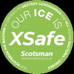 Scotsman XSafe Window Sticker
